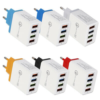 Travel Mobile Phone Wall Fast Charging QC 3.0 USB Charger Adapter Quick Charge