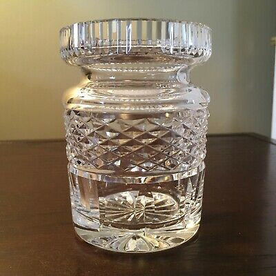 Waterford Crystal Castlemaine Jam, Jelly, Condiment Jar No Lid - Signed