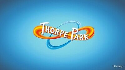 Thorpe Park E-Tickets x 2 valid Saturday 7 september 2019 Only