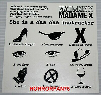 Madonna - Madame X - Temporary Tattoos - Exclusive Box Set Only Item!