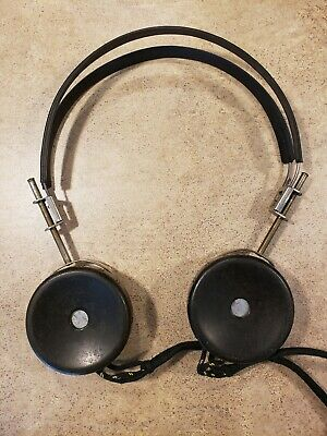 Vintage US Army WWII World War II TRIMM DEPENDABLE Headphones