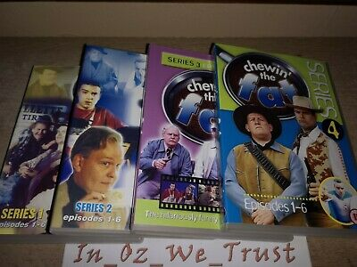 Chewin' The Fat - Complete Series 1-4 Collection (DVD, 2004, 4-Disc Box Set)