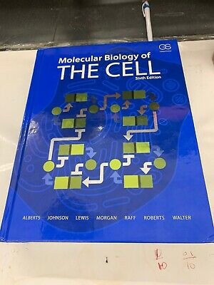MOLECULAR BIOLOGY OF the Cell Alberts Bray Lewis hardcover