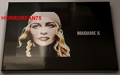 """Madonna - Madame X Deluxe Box Set - 7"""" Single, Deluxe Cd, Poster - New & Sealed!"""