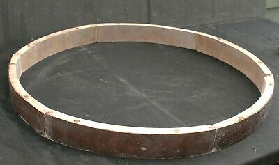 A Set of Six Edwardian / Victorian? Circular Table Sections.
