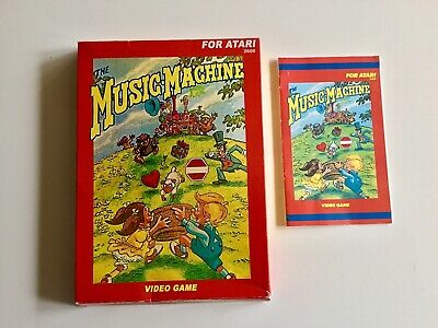 """Atari 2600 """"The Music Machine""""Box and Manual only/Reproduction"""