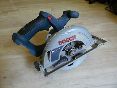 Bosch GKS 24V Circular Saw. NOT WORKING. SPARES.