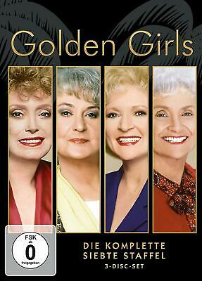 GOLDEN GIRLS COMPLETE SERIES 7 DVD New 7th Seventh Season Seven UK Compatible R2