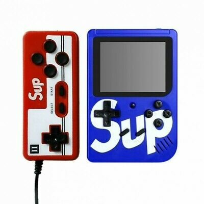 Mini Consola Retro FC de bolsillo Sup Game Box Plus 400 en 1 juegos Mando