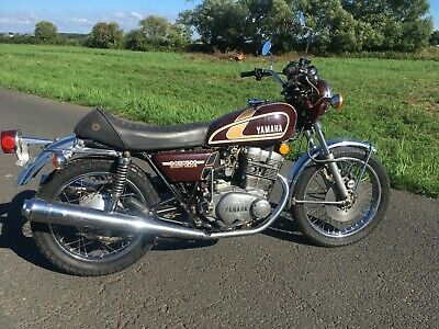 Yamaha Xs500 Twin 1975 Classic Motorcycle With Only 14000 Miles From New
