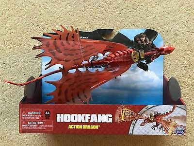 How to Train Your Dragon Hookfang Action Figure (NEW+SEALED)