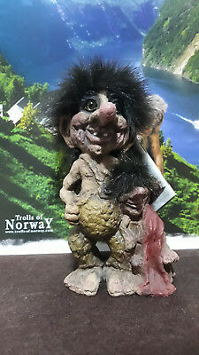 Troll Norvegese Ny Form Nyform 840-275 Troll Father and Son Norwegian Norway