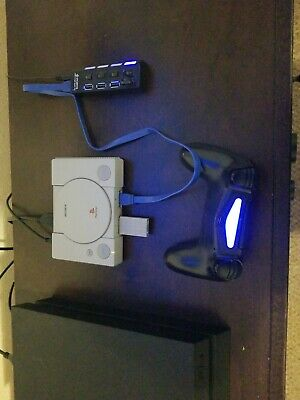 Modded PS1 Classic With 128GB USB Drive 200+  PS1 games - Easy setup!!