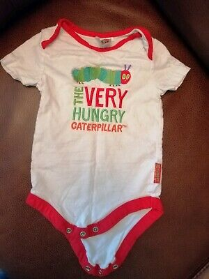 The Very Hungry Caterpillar Vest 9-12 Months