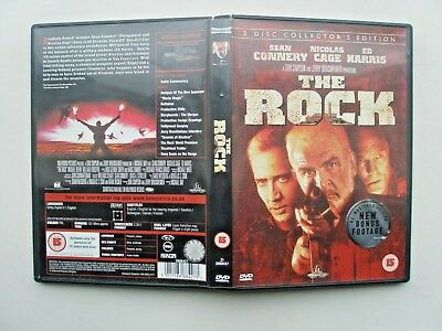 The Rock (2 Disc Set Dvd 2010) Starring Sean Connery, Nicolas Cage And Ed Harris