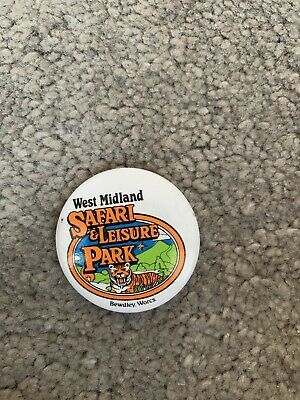 the cobra ride west Midlands safari and leisure  park vintage badge
