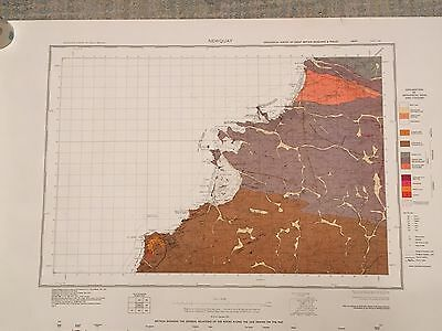 NEWQUAY Geological Survey Map 1:50000 drift sheet 346