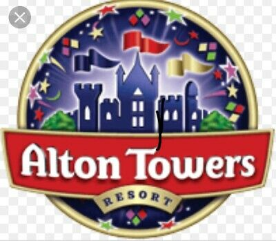 Alton Towers Tickets x 2 Monday 2nd September