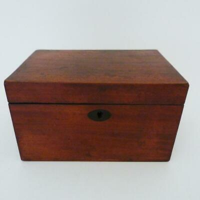 18Th Century George Iii Mahogany Tea Caddy, Circa 1790