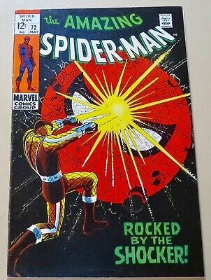 19-C0613: Amazing Spider-Man # 72, 1969, VF 8.0! The SHOCKER! See Promo 7 for 7!