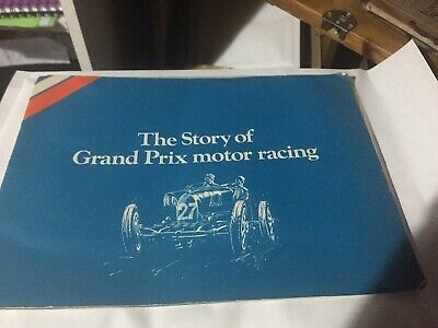 Mobil Story of Grand prix Racing complete 1971