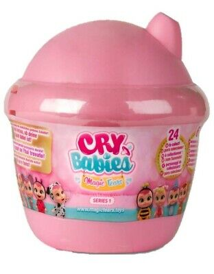 🚛Fast Shipping! {NEW} Cry Babies Magic Tears Bottle House Surprise Mini Doll +