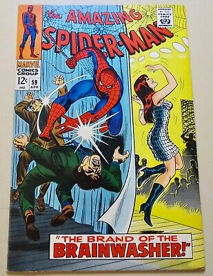 19-C0583: Amazing Spider-Man # 59, 1967, VF/NM 9.0! See Promo 7 for 7!