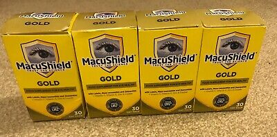 Macusheild Gold Food Supplement For Eye Health 4 Packs Available. 4 For £67.96.