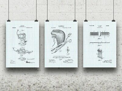 Hair Stylist Salon Poster Set Barber Shop Tattoo Parlor Beautician Gifts