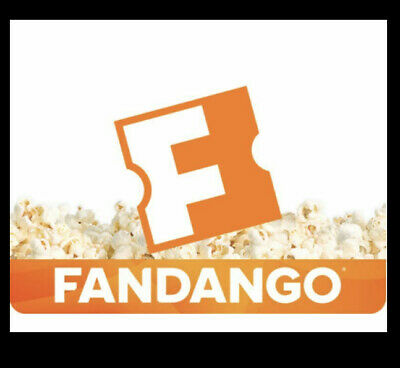 Three (3) Fandango Promo Codes for Any Movie Ticket - Total of $30 Value