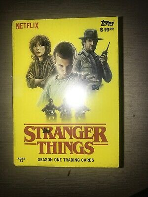 2018 Netflix Topps Stranger Things Exclusive Patch Card.
