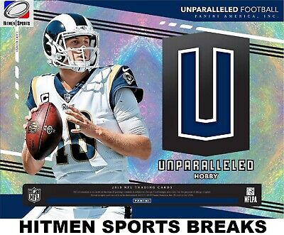 CLEVELAND BROWNS 2019 Panini Unparalleled Football 8 BOX CASE BREAK # 4