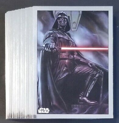 2019 Topps Star Wars Chrome Legacy- Marvel Comic Book Covers Set- (25) Cards