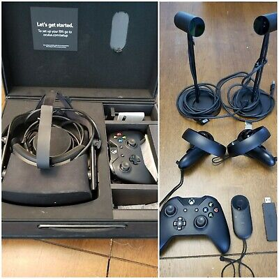 Oculus Rift CV1 with Touch Controllers, 2 Sensors, Remote, Xbox Controller