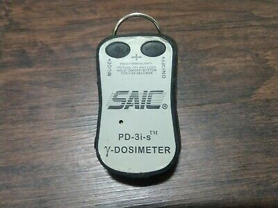 SAIC PD-3i-s Dosimeter gamma x-ray, tested working