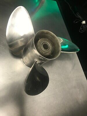 VOLVO PENTA STAINLESS STEEL PROP LEFT HAND ROTATION 14 3//4 X 19P 3860715