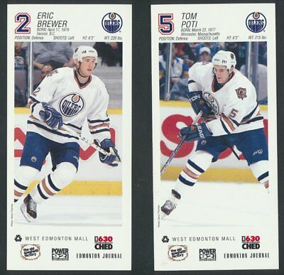 2001-02 Edmonton Oilers WEM Team Issue Photos Complete Set of 24 Smyth Marchant