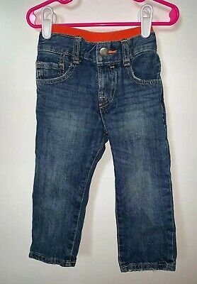 Baby Gap Outlet Boys 2 Years Pull-On Straght Leg Medium Wash Jeans/Bottoms