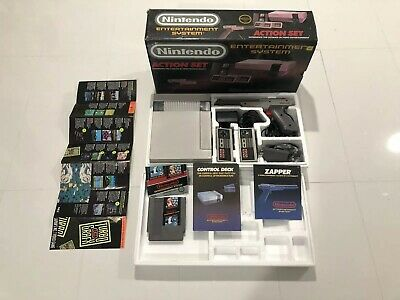 NES Nintendo Entertainment System Action Set Console - IN BOX!!