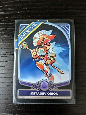 Brawlhalla - Metadev Orion Legend Skin Code / Card - PC - PAX East