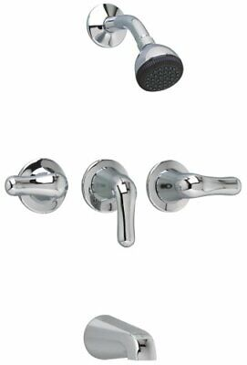 American Standard 3375.502.002 Colony Soft 3-Handle Bath and Shower Faucet with
