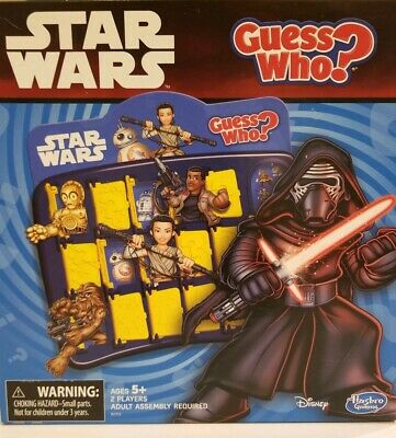 Star Wars Guess Who Game 2014 Disney Hasbro Used but Fine Condition