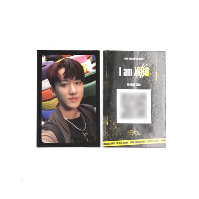 [Stray Kids]I am WHO Official QR Photocard / BLACK / Selfie - CHANGBIN