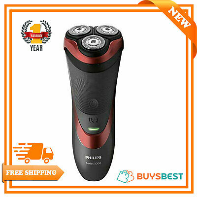 Philips Series 3000 Wet & Dry Men's Electric Shaver With Pop-up Trimmer S3580/06