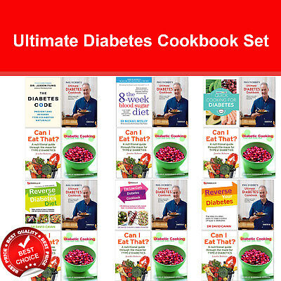 Ultimate Diabetes Cookbook Set Reverse Your Diabetes Diet, Diabetes Code, 8-Week