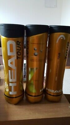 Used tennis balls in tins ~ excellent condition ~ 12 ~ FREE POSTAGE!