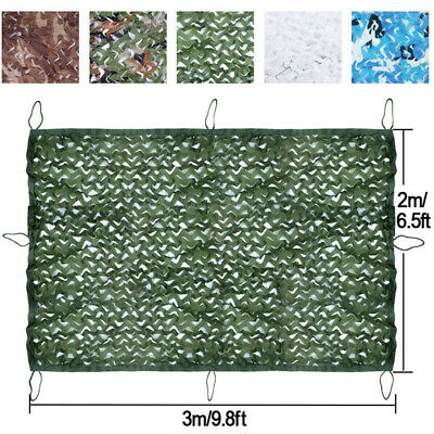 Camouflage Hunting Shooting Hide Army Camping Blinds Military Netting Leaf Net