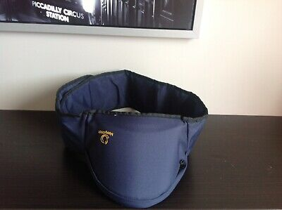 USED ONLY ONCE ! Hippychick Hip Seat (Navy) Baby Seat.