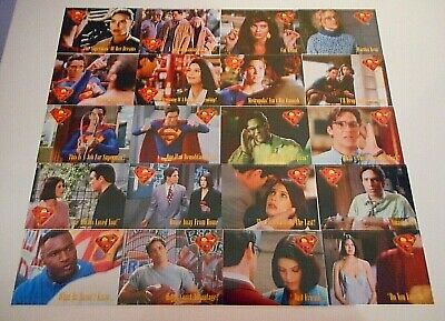 20 x LOIS & CLARK TRADING CARDS-SKYBOX 1995-FREE POST