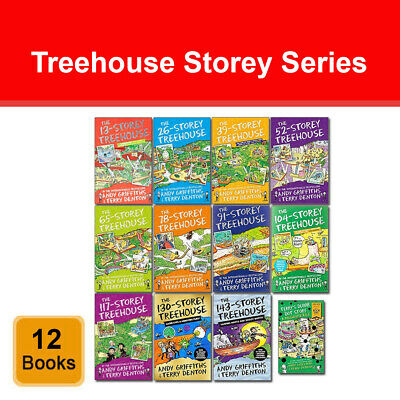 The Treehouse Books 10 Books Collection Set by Andy Griffiths Pack 117-Storey